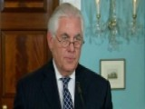 Tillerson: Iran's Provocative Actions Threaten The US