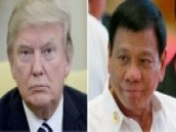 Trump Invites Controversial Philippines Leader To WH