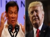 Trump Under Fire For Reaching Out To Philippine President