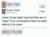 Trump's Tweet Raises Questions About Recording Conversations