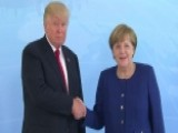 Trump Meets With Merkel Ahead Of G20 Summit