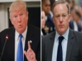 Trump Issues Statement After Sean Spicer's Resignation