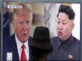 Trump Signals Time For Talk May Be Over With North Korea