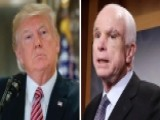 Trump Putting Pressure On McCain With Arizona Rally?
