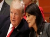 Trump, Haley Take Message Of Reform To UN