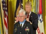 Trump Awards Medal Of Honor To US Army Capt. Gary M. Rose