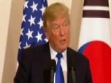 Trump Vows Hardline Approach On North Korea