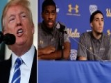 Trump Tweets He Should've Left Basketball Players In Jail