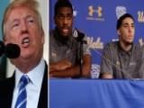 Trump Tweets He Should've Left Basketball Players In Jail