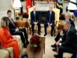 Trump Meets With Congressional Leaders In Oval Office