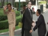 Thai PM Leaves Cardboard Cutout To Answer Press' Questions