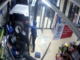 Thieves Use Stolen SUV To Smash Into Store And Steal ATM