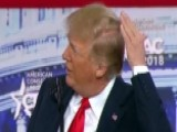 Trump Jokes About Bald Spot At CPAC 2018