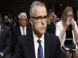 Timing Of Andrew McCabe's Firing Faces Backlash