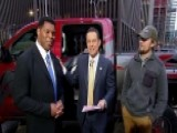 Truck Giveaway Winner Shares His Story On 'Fox & Friends'