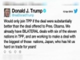 Trump: US Would Join TPP If Deal Were 'substantially Better'