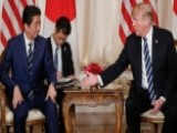 Trump Welcomes Japanese PM Abe For High-stakes Summit