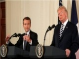 Trump And Macron Clash Over The Iran Deal