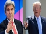 Trump Blasts Kerry Back Channel Efforts On Iran Deal