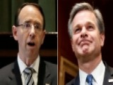 Trump To Meet With Rosenstein, Wray At The White House
