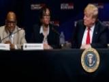 Trump Gets Progress Report On MS-13 Crackdown On Long Island