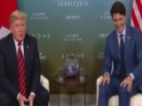 Trump Jokes Trudeau Has Agreed To Cut All Trade Tariffs