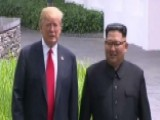 Trump: Meeting With Kim Jong Un Was 'really Very Positive'