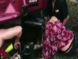 Teen Gets Head Stuck In Truck Tailpipe At Music Festival