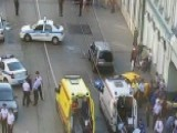 Taxi Plows Into Crowd In Moscow As Fans Watch World Cup
