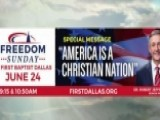 Texas Church Forced To Remove 'Christian Nation' Billboard