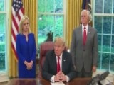 Trump Signs Order To Keep Families Together At Border