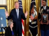Trump Presents Medal Of Honor To WWII Veteran's Widow