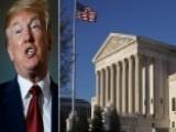 Trump Promotes Economic Agenda As Supreme Court Pick Looms