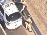 Troopers Rescue Dog From Busy Phoenix Freeway
