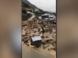 Torrential Rain Causes Deadly Landslide In Japan