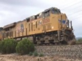 Train Derails In Arizona During Heavy Rain, Flooding