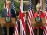 Trump, May Say They Are Keen To Work Together On Trade Deal
