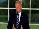 Trump Touts Economic Success At Speech In Bedminster, NJ