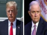 Trump, Sessions Intensify War Of Words