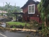 Tropical Storm Lane Hammers Hawaii