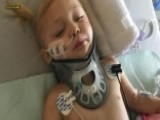 Toddler Left Partially Paralyzed After Freak Accident