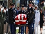 Thousands Brave Arizona Heat To Pay Respects To Sen. McCain