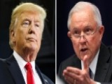 Trump Comments On Sessions's Fate As Tension Intensifies