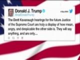Trump Slams Treatment Of Kavanaugh At Confirmation Hearing