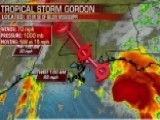 Tropical Storm Gordon Expected To Strengthen To Hurricane