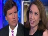 Tucker Takes On Kavanaugh Opponent