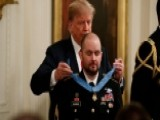 Trump Awards Medal Of Honor To Staff Sgt. Ronald Shurer