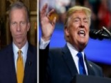 Thune: Trump Pointing Out Inconsistencies In Ford Testimony