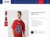 Trump Merchandise Site Sells 'Stand Up For America' Jerseys