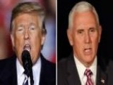 Trump, Pence Hot On The Campaign Trail